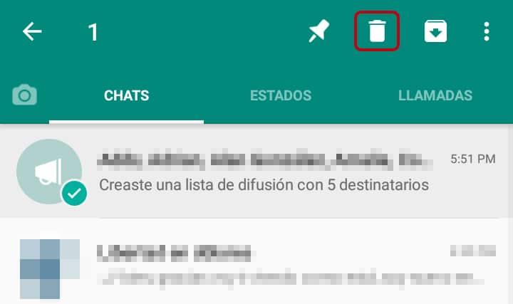 Qué significa nueva difusión en WhatsApp
