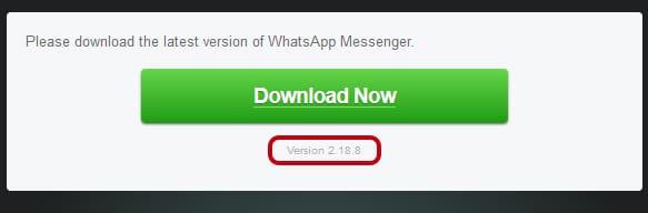Cuál es el WhatsApp más nuevo (2018)
