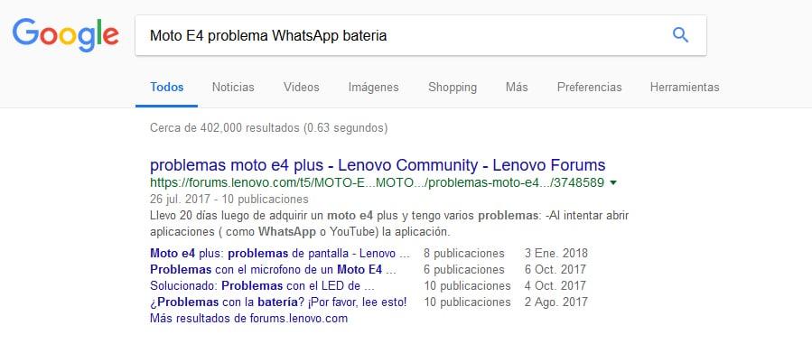 Cómo solucionar problema de consumo de batería usando WhatsApp