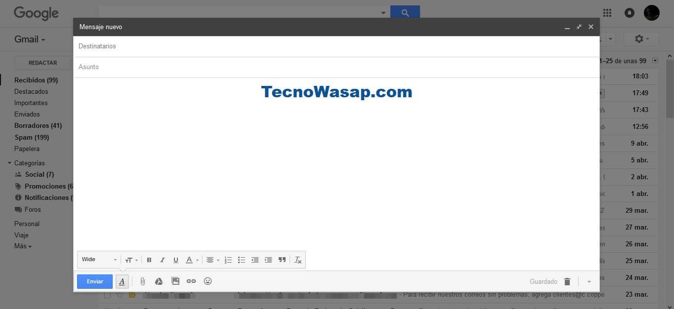 Correo electrónico vs WhatsApp