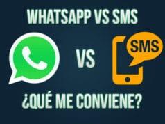 WhatsApp vs SMS: ¿qué me conviene?