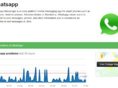 Cómo saber si WhatsApp está caído