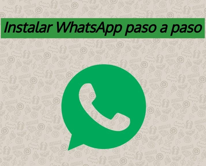 instalar whatsapp paso a paso