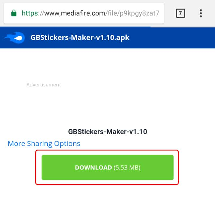 Crear stickers para GBWhatsApp