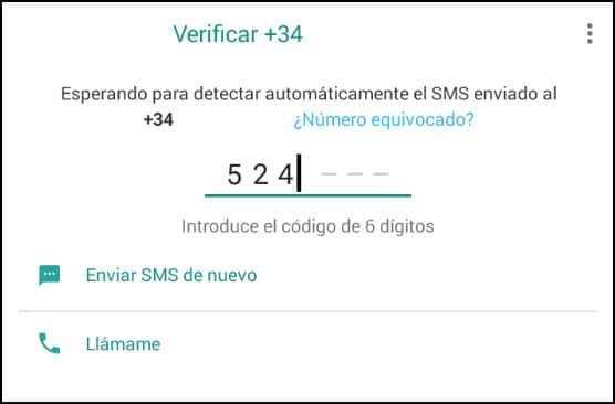 verificar número WhatsApp