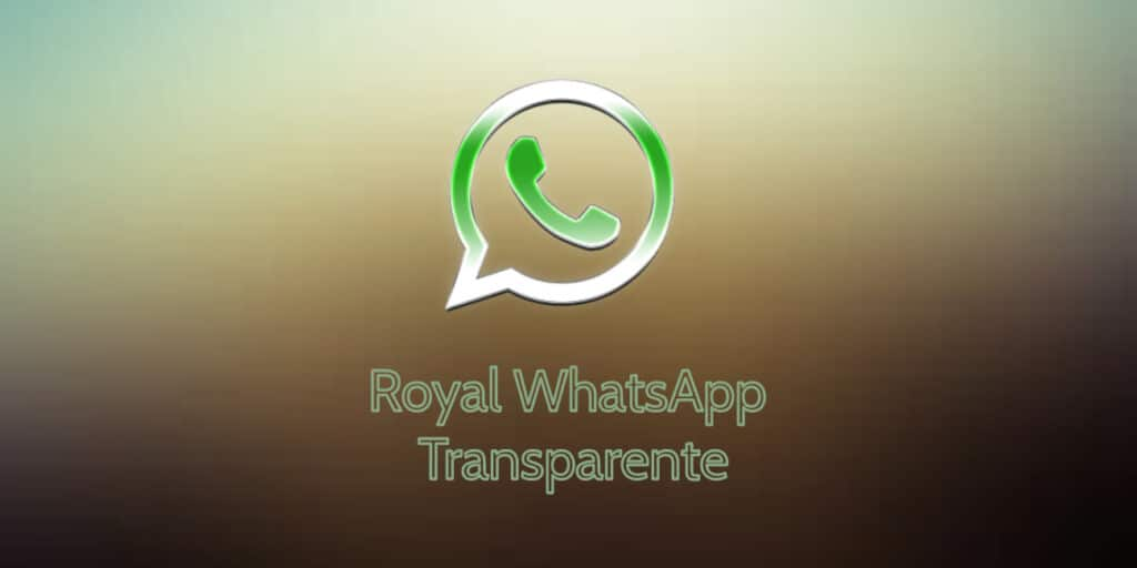 Royal WhatsApp Transparente