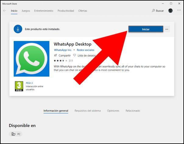 Iniciar WhatsApp Web
