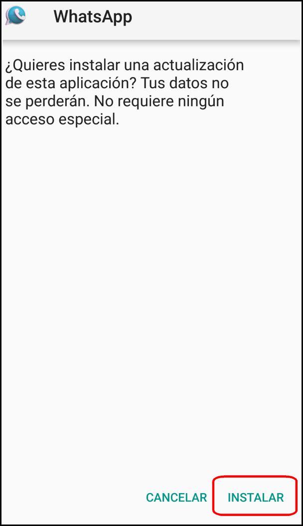 Instalar WhatsApp Mix