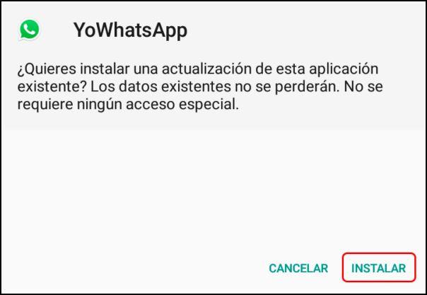 instalar YoWhatsApp
