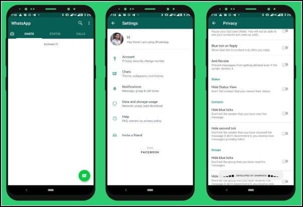WhatsApp Base MOD